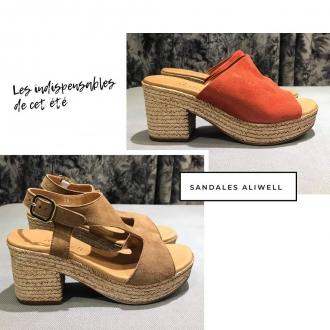 Vous cherchez les sandales parfaites pour cet été? Découvrez les chaussures @aliwell sur maxluna.fr   #chaussures #maxlunagrenoble #aliwell #fashion #summer